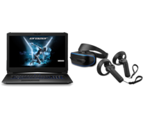 MEDION ERAZER X7855 i7 Gaming laptop en MR X1000 VR bril bundel