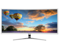 "MEDION® AKOYA X58434 34"" Ultra Widescreen QHD curved monitor"