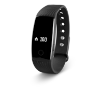 MEDION® LIFE E1000 Fitness Activity Tracker (zwart)