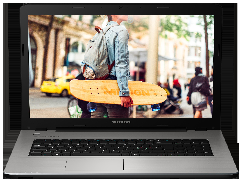 """MEDION® AKOYA® E7419, Intel® Celeron® 3855U, Windows10Home, 43,9 cm (17,3"""") HD Display, 1.000 GB HDD, 4 GB RAM, Notebook"""