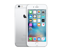 Apple iPhone 6s Zilver 128 GB (remanufactured)