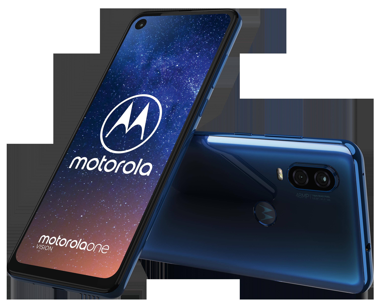 "Motorola Moto One Vision Smartphone, 16 cm (6,3"") Full HD Display, Android™ 9, 128 GB Speicher, Octa-Core-Prozessor, Dual-SIM, LTE"
