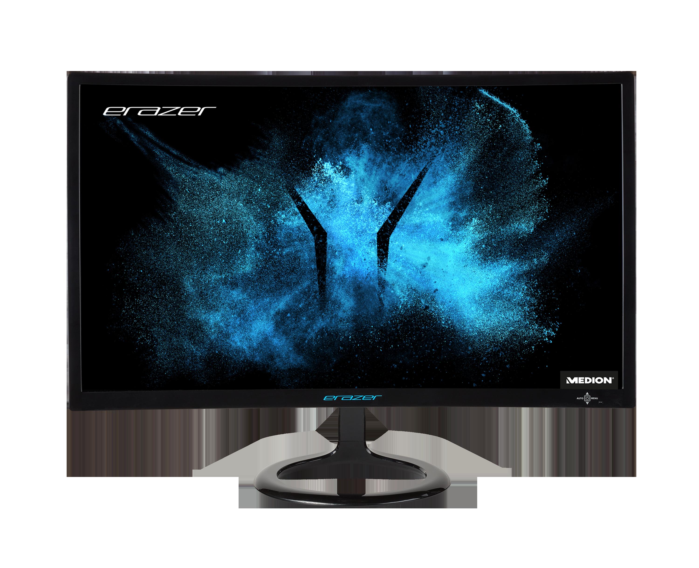 """MEDION® ERAZER X52471 Moniteur 23,6"""" incurvé  Full-HD (144 Hz)"""