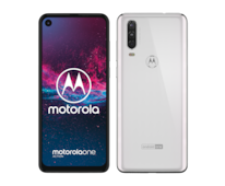 Motorola One Action Pearl White