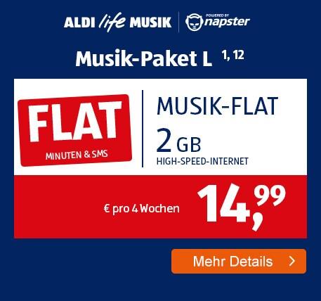 ALDI TALK Allnet-Flat Musik Paket L