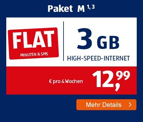 ALDI TALK Allnet-Flat Paket M