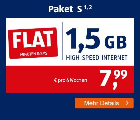 ALDI TALK Allnet-Flat Paket S