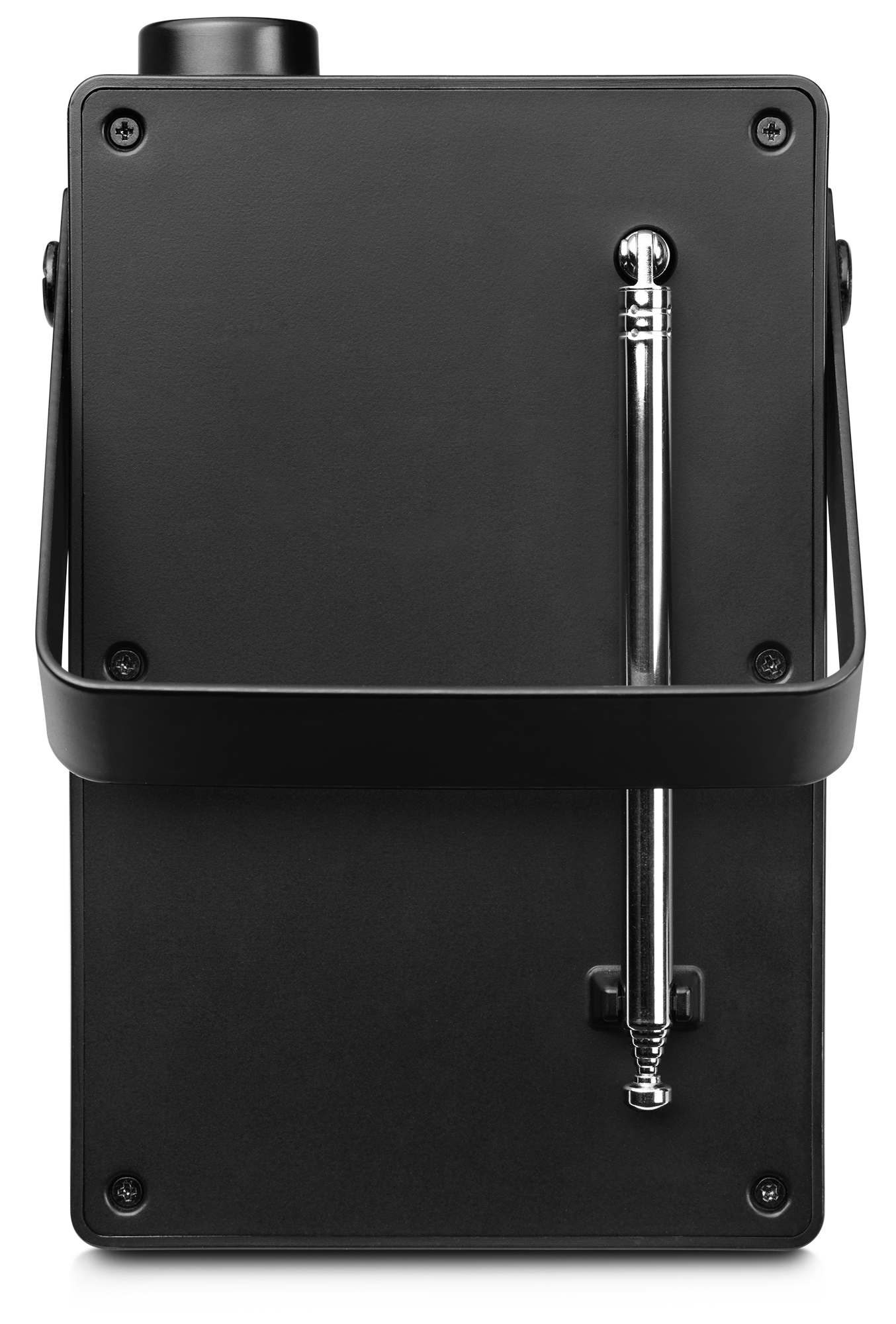 Portable DAB+ radio achterkant + antenne