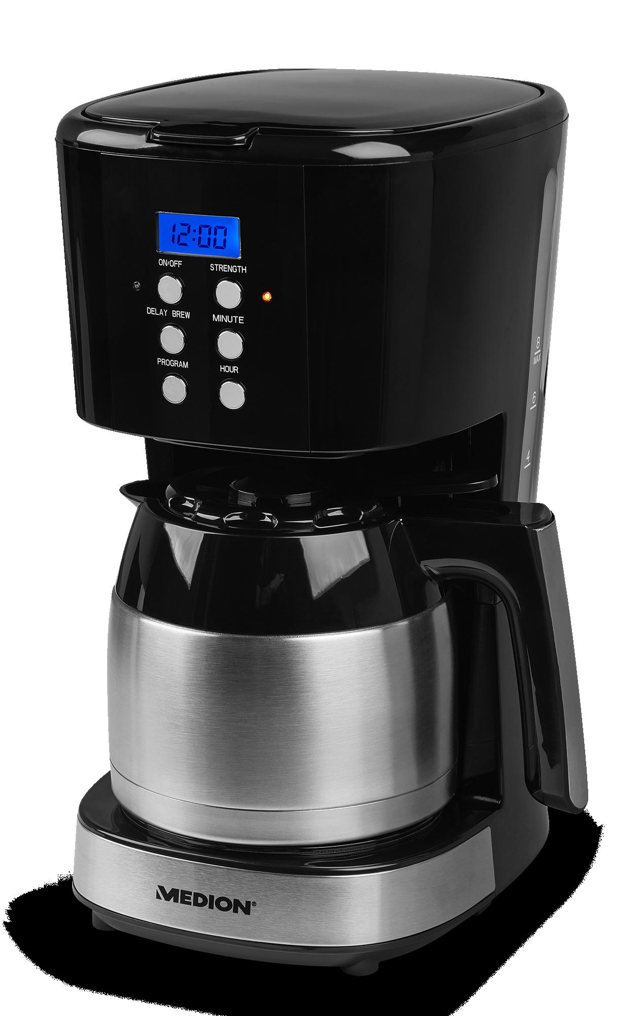 Medion koffie apparaat met thermos kan in gebruik