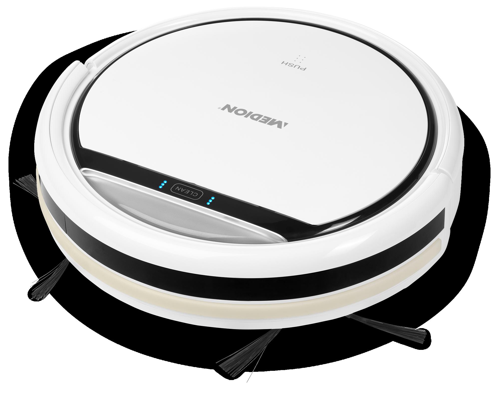 MEDION® Robot stofzuiger MD 18500 (wit)