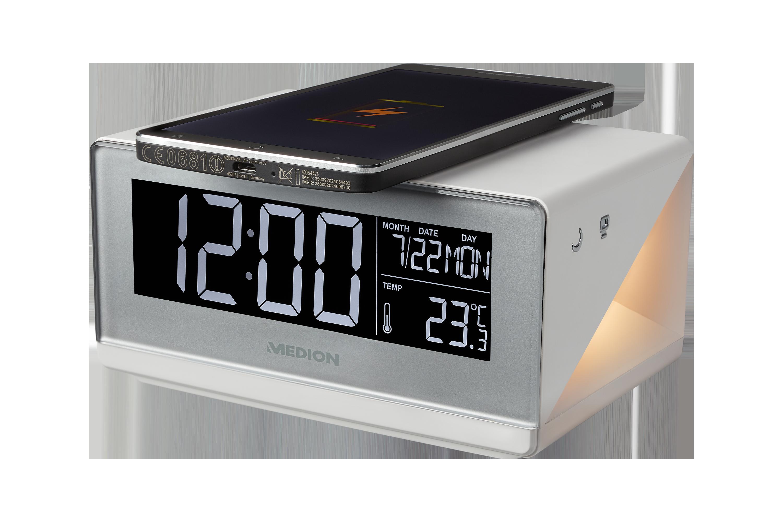 QI charging alarm clock