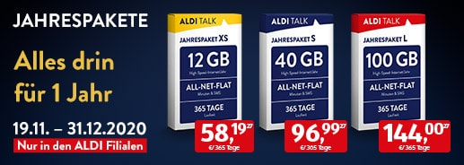 ALDI TALK - Jahrespaket