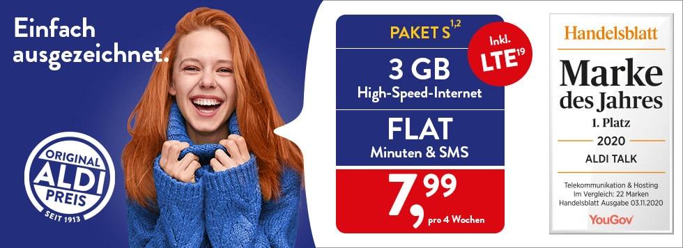ALDI TALK - Prepaid surfen, telefonieren, & günstige Smartphones