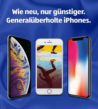 Generalüberholte iPhones bei ALDI TALK
