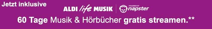 60 Tage Musik & Hörbücher gratis streamen**