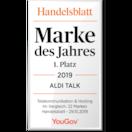 ALDI TALK zum sechsten Mal in Folge Mobilfunkmarke des Jahres
