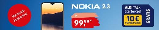 Nokia 2.3 bei ALDI TALK