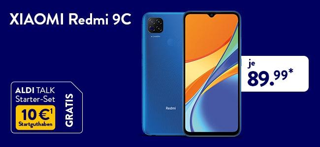 XIAOMI Redmi 9C 32 GB für 39,99 Euro bei ALDI TALK