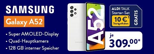 Samsung Galaxy A52 bei ALDI TALK