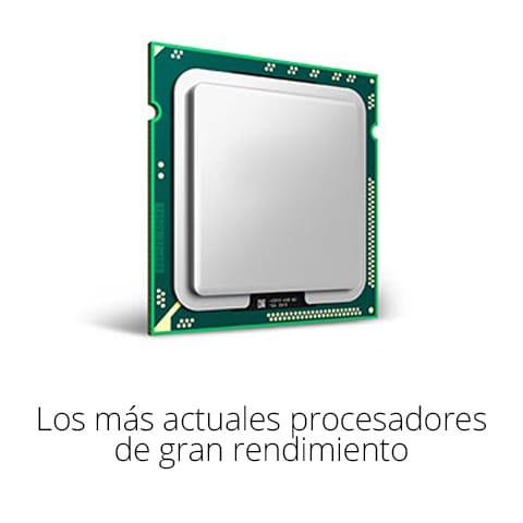 Los mas actuales procesadores de gran rendimiento