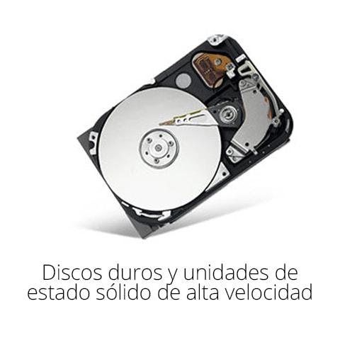 Discos duros y unidades de estado solido de alta velocidad
