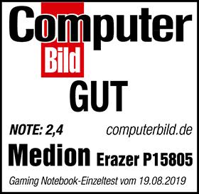 Computerbild Testsiegel MD 63400 P15805
