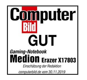 TEST BILD MEDION<sup>®</sup> ERAZER<sup>®</sup> X17803