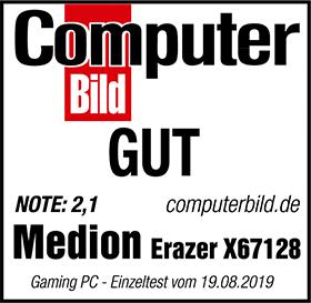 Computerbild Testsiegel MD 34180 X67128
