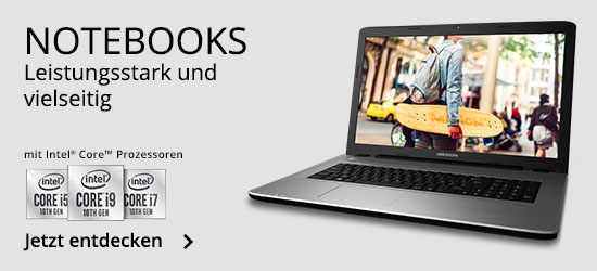 Notebooks bei MEDION