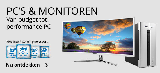 Categorie PC en monitoren navigatie MEDION