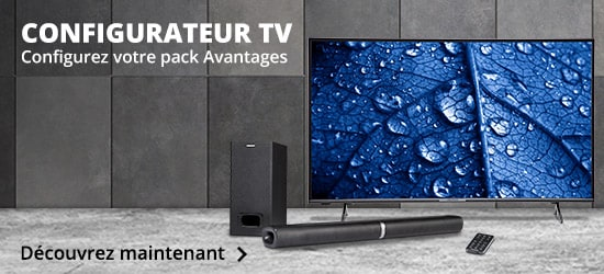 Configurateur TV