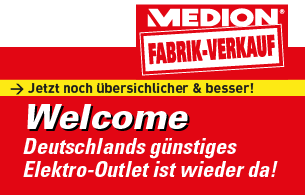 Fabrikverkauf Welcome MEDION Outlet