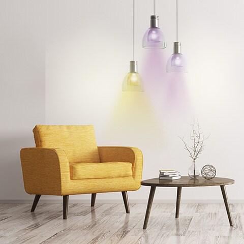 Smart Home Stimmung erzeugen mit RGB Leuchten MEDION