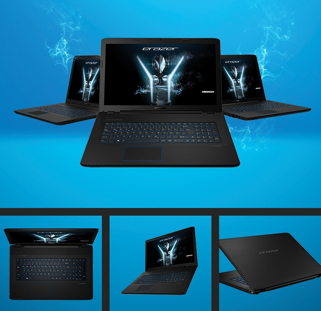 ERAZER P7651 Gaming Laptop