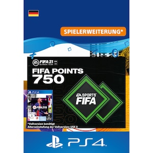 FIFA 21 ULTIMATE TEAM 750 POINTS (PS4)