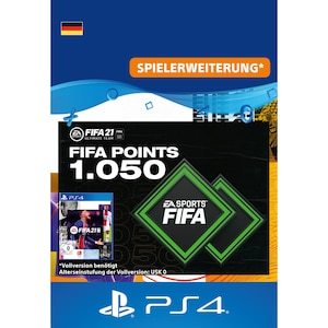 FIFA 21 ULTIMATE TEAM 1050 PONITS (PS4)