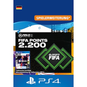 FIFA 21 ULTIMATE TEAM 2200 POINTS (PS4)