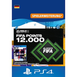 FIFA 21 ULTIMATE TEAM 12000 POINTS (PS4)
