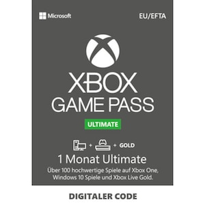 Xbox Game Pass Ultimate - 1 Monat