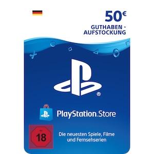 Sony PlayStation PSN 50 EUR Guthaben DE
