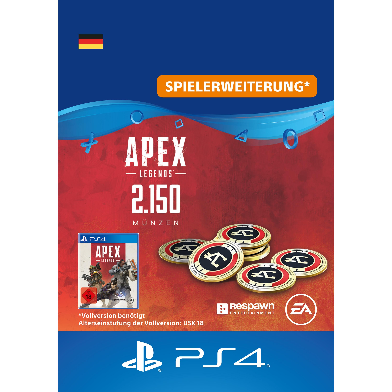 Apex Legends™ – 2150 Apex-Münzen [DE] PS4