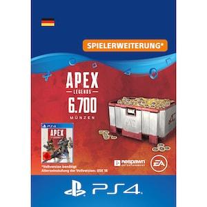 Apex Legends™ – 6700 Apex-Münzen [DE] PS4