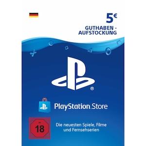 Sony PlayStation PSN 5 EUR Guthaben DE