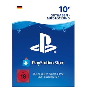 Sony PlayStation PSN 10 EUR Guthaben DE