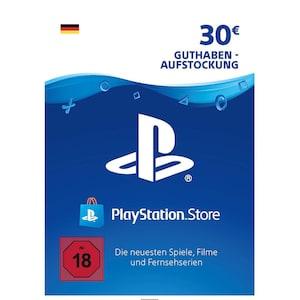 Sony PlayStation PSN 30 EUR Guthaben DE