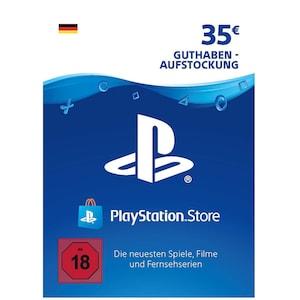Sony PlayStation PSN 35 EUR Guthaben DE