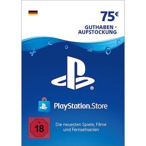 Sony PlayStation PSN 75 EUR Guthaben DE