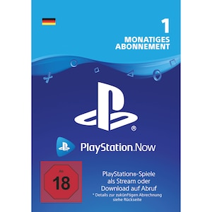 Sony Playstation Now DE - 1 Monat Mitgliedschaft