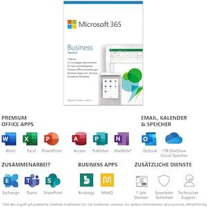 Microsoft Office 365 Business Standart (1 Nutzer/4 Geräte) Jahresabonnement