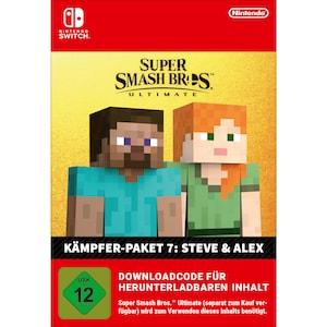 Super Smash Bros. Ultimate: Steve & Alex Challenger Pack